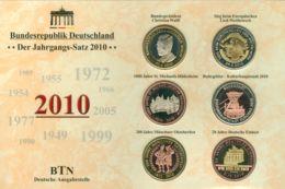 BRD Medaillen-Jahrgangssatz 2010 - [ 7] 1949-…: BRD