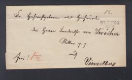 Falthülle Klötze Nach Vinzelberg - Preussen