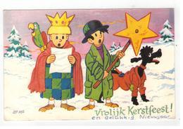 JEF NYS  Vrolijk Kerstfeest  (17x11 Cm Port 2€) - Other Illustrators