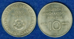 DDR 10 Mark 1974 25 Jahre DDR - Sonstige