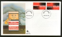 South Africa 1979 Save Fuel Automobiles Transport Taffic Petrolium FDC # 6072 - Oil