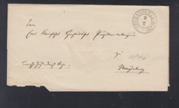 Falthülle 1846 Seehausen Altmark Nach Magdeburg - Preussen