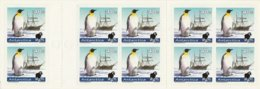 Black Sheep Stamps New Zealand Booklet - Antarctica Emperor Penguins And Ship - Adhesive Stamps - Dépendance De Ross (Nouvelle Zélande)