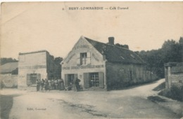 CPA - France - (60) Oise  - Bury-Lombardie - Café Durand - Otros Municipios