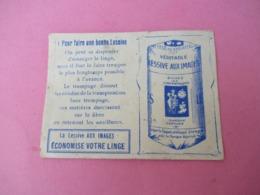 Pt Calendrier De Poche/Lessive Aux Images / La Lessive Aux Images Economise Votre Linge //1913    CAL459 - Calendriers