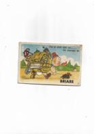 Carte Postaleancienne Avec Dépliant Sur Briare  Signé Bozz - Mechanical