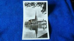 Schwerin Mecklbg. Pfaffenteich Mit Dom Germany - Schwerin