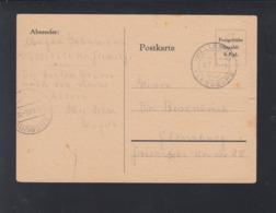 Alliierte Besetzung 1945 Wallsbüll Nach Flensburg - Bizone