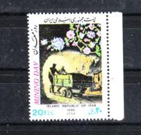 Iran   -  1988.  Minatori. Miners. MNH - Altri