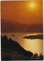 Lac De Serre-Poncon - Coucher De Soleil Sur La Petite Chapelle - (Hautes-Alpes) - Serre Chevalier