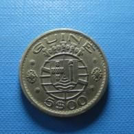 Portuguese Guiné 5 Escudos 1973 - Portugal