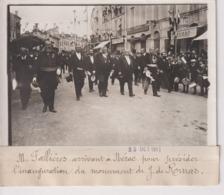 M FALLIÈRES NÉRAC MONUMENT DE J DE ROMAS Lot-et-Garonne 18*13CM Maurice-Louis BRANGER PARÍS (1874-1950) - Places