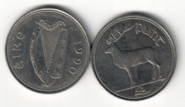 Ireland 1 Pound 1990 XF/AUNC (Price For 1 Coin) - Irlanda