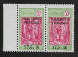 "CAMEROUN 1940 YT 202** - VARIETE ""2"" FERME - Cameroun (1915-1959)"