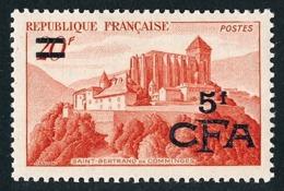 REUNION 1949-52 - Yv. 298 (=FR 841A + Surch) **   Cote= 12,00 EUR - Saint-Bertrand-de-Comminges  ..Réf.FRA29042 - Ungebraucht