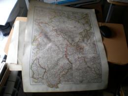 Rheinland Und Westfalen Furstentumer Lippe Und Grossherzogtum Lu Volks Und Fanilien Atlas A Schober Leipzig 1901 Big Map - Geographical Maps