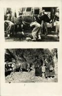 Tibet Thibet, Tibetan Farrier At Work, Native Travelers (1910s) RPPC Postcard - Tibet