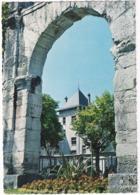 Aix-les-Bains - L'Hotel De Ville, Vu Sous La Voute De L'Arc De Campanus - (1966) - Savoie - Aix Les Bains