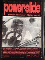 Revue Powerslide Motorsport Juillet 1970 Sport Automobile Le Mans Nurburgring Indianapolis Voir Sommaire - Sport