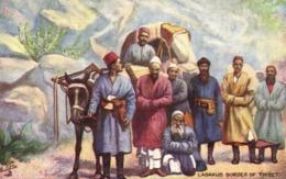 Tibet Thibet, LADAKUS, Group Of People Near Border (1910s) Tuck Oilette Postcard - Tibet