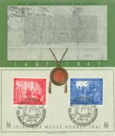 Alliierte Besetzung 965/66 Auf Sonderkarte SSt. - American,British And Russian Zone