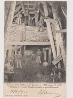 Iselle (VB)  Interno Della Galleria Del Sempione Con Lavori Di Allargamento E Puntellamento  - F.p. - Anni '1898-'1906 - Verbania