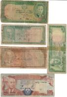 Afghanistan Lot 5 Old Banknotes - Afghanistan