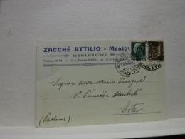 MANTOVA  -- ZACCHE' ATTILIO  -- RISIFICIO - Mantova