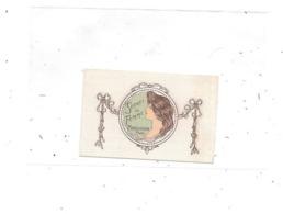 44 - PONT ROUSSEAU, Petite Carte Parfumée  Secret Femme MOUILLERON PARIS, Salon Coiffure BOISSELIER 8 Rue Thiers, - Cartes Parfumées