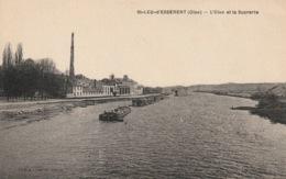 Saintt-LEU-d'ESSERENT - OISE - Péniche Batellerie - France