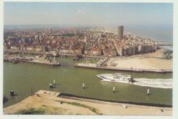 OOSTENDE / LUCHTOPNAME  HAVENGEUL EN SALLY FERRIES - Oostende