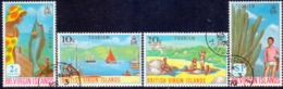 BRITISH VIRGIN ISLANDS 1969 SG 236-39 Compl.set Used Tourism - British Virgin Islands