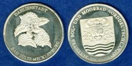 Medaille Dahlienstadt Bad Sülze 36mm - [ 7] 1949-…: BRD