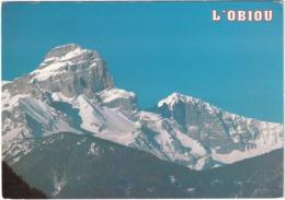 L'Obiou (Isère) Alt. 2793 M - Frankrijk