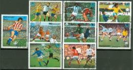 Paraguay 3132/40 O Fußball-WM 1978 - Paraguay