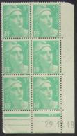 Gandon  En Bloc De 6 Coin Daté - Pas Cher - 1932-39 Peace
