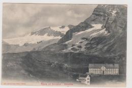 Strada Del Sempione - Ospizio,  La Cartolina Partì Da Briga Stazione(CH) Passando Il Nuovo Traforo  - F.p. - 23-8-1906 - Verbania