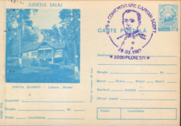 Romania-stationery Postcard 1987 - 75th Commemoration Of Captain Robert F.Scott 29.03.1987,special Stamping - Events & Commemorations
