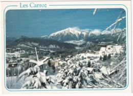 Les Carroz - Vue Générale De La Station - (Haute-Savoie - 1140 M) - Bonneville