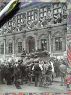 CHAR LIBERATION DE PARIS GUERRE WW2 PHOTO DE PRESSE 24 X 18 Cm PHOTO PRESSE LIBERATION - Guerre, Militaire