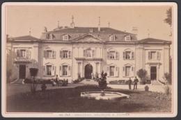 France, ( 01 ) Ain - Chateau Voltaire A Ferney Voltaire,  C 1882 - Cabinet Photograph, Garcin, Geneve - Ancianas (antes De 1900)