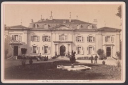 France, ( 01 ) Ain - Chateau Voltaire A Ferney Voltaire,  C 1882 - Cabinet Photograph, Garcin, Geneve - Anciennes (Av. 1900)