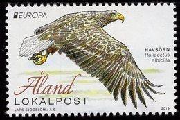Aland - 2019 - Europa CEPT - National Birds - White-tailed Eagle - Mint Stamp - Aland