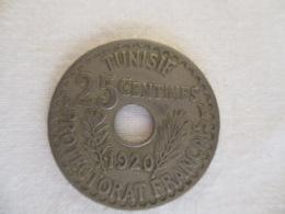 Tunisie: 25 Centimes 1920 - Tunisie