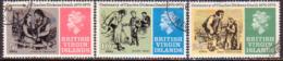 BRITISH VIRGIN ISLANDS 1970 SG 257-59 Compl.set Used Charles Dckens - British Virgin Islands