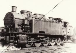 Photo SNCB NMBS Chemins De Fer Belges Train Locomotive - Treni