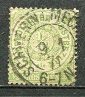 NORD -  Yv. N° 13 MI. N° 14  Dentelé (o)  1/3g   Vert_jaune   Cote   2 Euro  BE   2 Scans - Norddeutscher Postbezirk