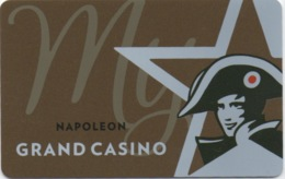 Belgique : Grand Casino Napoléon : Knokke & Middelkerke - Cartes De Casino
