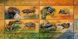 Kyrgyzstan - Express Post - 2019 - Red Book Of Kyrgyzstan - Reptiles And Amphibians - Mint Souvenir Sheet - Kirghizistan
