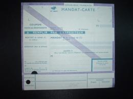 MANDAT CARTE NEUF N°1406 E - Marcofilie (Brieven)